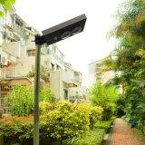 6W het alle-in-één Zonne LEIDENE van de Straatlantaarn Licht van de Tuin