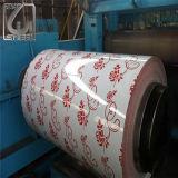 La Principal-Qualité de Dx51d a enduit la bobine d'une première couche de peinture en acier galvanisée avec la peinture d'Akzo