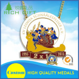 Fabbricazione personalizzata simbolica della medaglia del metallo del gallo 2017 di figura della moneta della tazza calda del mestiere