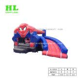 Arrefecer o Homem-Aranha Tema Personalizado Hot-Selling Combo inflável para inspirar os interesses da criança de explorar o mundo estranho