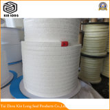 La fabrication du PTFE pur de bonne qualité de l'emballage d'huile ; pur à 100 % de la corde d'emballage tressé en Téflon PTFE
