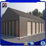 Garage prefabricado barato moderno de la estructura de acero para la venta