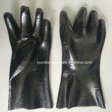 Пвх Non-Slip Wear-Resistant рабочие перчатки