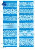 De elastische Stof van het Kant voor Kleding/Kledingstuk/Schoenen/Zak/Geval M031 (breedte: 8cm)