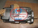 Hete Factory~Genuine KOMATSU wa600-3 Motor sA6d170-3 Dubbele Gezamenlijke Hydraulische Pomp Ass'y van de Lader van het Wiel: 705-52-31080 de Vervangstukken van Machines Contruction