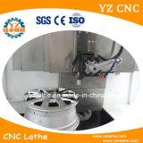 El corte del diamante de la reparación de la rueda de la aleación de China rueda el torno vertical del CNC