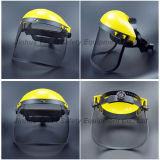 Protección ajustable de la cara de la suspensión con el visera del PVC (FS4014)