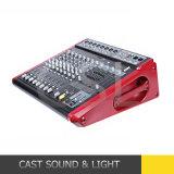 8CH 350W*2 DSP angeschaltene Audio-DJ mischende Konsole mit Verstärker
