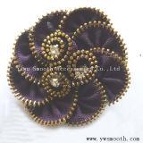 Moda Lace Chiffon Flor Multicor acessórios de vestuário decorativas