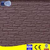 Diseños flexibles de la pared exterior del ladrillo del penl del emparedado de la PU
