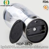 bottiglia elettrica dell'agitatore della proteina di plastica popolare calda di ginnastica 450ml, bottiglia di plastica dell'agitatore della proteina di vortice (HDP-0825)