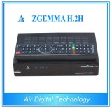 DVB combinato televisione via satellite Receiver Kodi Media Player Zgemma H. 2h di DVB + di S2/S T2/C