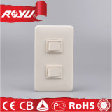 Buntes Three Gang Briten Standard Lighting Switch, 250V Wall Switch