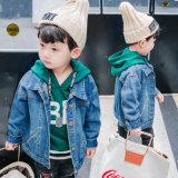 Camada de denim Jacket para Bebê Roupas Menina