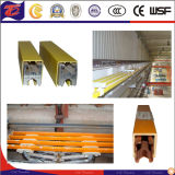 Barre omnibus de PVC de chariot à distribution d'énergie pour la grue/élévateur