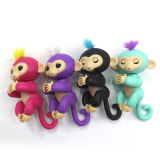작은 물고기 대화식 아기는 다채로운 작은 물고기 원숭이 장난감을 Monkeys
