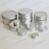 China Aluminum Cosmetic Cream Jars with Screw Lid