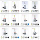 Faro automatico di potere luminoso eccellente LED con il kit del corpo di automobile e le reattanze NASCOSTE (H1 H3 H4 H7 H8 H9 H11 9005 9006 40W 4500lm)