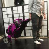 cadeira de rodas elétrica de dobramento portátil de 180W Moterized