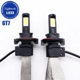 De Alta Potencia OEM Gtp7 40W 4000LM Fanless Coche Faro LED lámpara H13