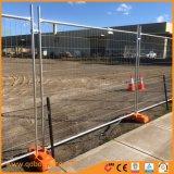 Treillis soudés de la sécurité de la sécurité galvanisé à chaud clôture temporaire