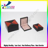 Rectángulo de joyería de papel de empaquetado del hexágono del regalo de la cartulina rígida de lujo