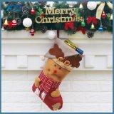 Elch-Weihnachtsstrumpf-Dekoration-Geschenk-Strumpf