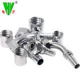 La femmina del filetto di Bsp del montaggio di tubo della Cina un tubo flessibile da 60 gradi connette il montaggio di tubo flessibile idraulico