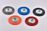 Wb01 escova roda Escova Industrial personalizados para rebarbar polir
