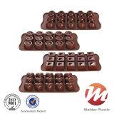 チョコレートまたはデザートのためのカスタム上の販売のシリコーン型