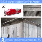 Los elementos prefabricados de hormigón de Extrusión de panel de pared ligera máquina jj