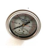 De Manometer van de Maat van de Druk van het Bewijs van de trilling met Achterwaartse Fronge