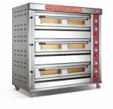 Norm 3 Dekken 9 de Machine van het Voedsel van de Oven van het Dek van het Gas van Dienbladen