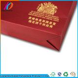 La Cina progetta il sacco di carta per il cliente d'acquisto stampato con la maniglia