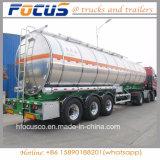 4 Fach-Kraftstoff-Aluminiumstahlschlußteil-LKW für Mittleren Osten