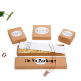 Точная украшения подарочной упаковки коробки на заводе в кольцо, Earring, подвесная, шейный ремешок