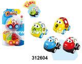 Nova cola suave de brinquedos para bebés sentem os veículos automóveis de rodas brinquedos (312604)