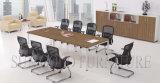 Tabela de reunião de madeira luxuosa da mobília de escritório da venda por atacado da fábrica do fornecedor de China