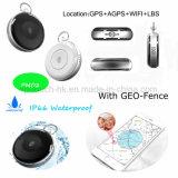 À prova de água portátil GPS Mini Rastreador pessoal com o botão SOS PM02