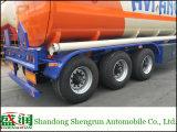 Shengrun Fabricante - mejor venta de depósito de aceite Cbm 45 camión de remolque semi
