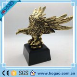 2016 Top-Rated personalizar la decoración del hogar Don Polyresin Eagle estatua