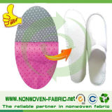 Telas no tejida Utilizado desechables zapatillas, zapatillas desechables de materiales