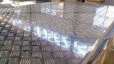 1050 алюминиевый лист рельефная алмазов для кровли