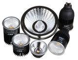 Marco negro 6W Retrofit LED MR16 Bombilla módulo