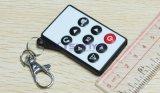 9 boutons Porte-clés Porte-clés Universal IR Télécommande sans fil pour caméscope