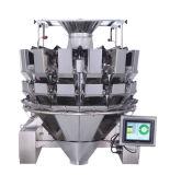 Máquina de empacotamento vertical automática com pesador de Multihead