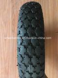 3.00-8 Pneumático de roda de borracha pneumático do Wheelbarrow da venda quente