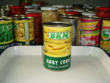 Canned Baby Corn Whole 370ml in Knell Gravel bank