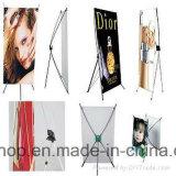 Publicité d'affichage de qualité supérieure X Banner Stand