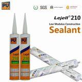 Één Component, Geen Behoefte om zich Te mengen, het Dichtingsproduct van Pu voor Bouw Lejell 210 (Zwarte)
